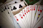 La tour de cartes nombre magique