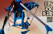 Robot 3Dprinted EEZYbotDELTA