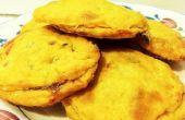 Pimento Cheese biscuits farcis avec de la confiture de fraise