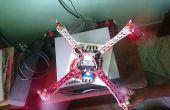 DJi F450 Quadcopter comment construire ? La maison construite.