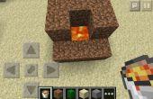 Minecraft Pocket Edition incinérateur