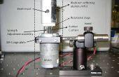 Obturation rapide-interrupteur au pied pour les lasers