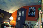 Porte de peinture A TARDIS sur n'importe quelle porte