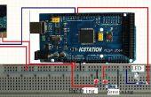 Système d'alarme antivol entrée garde basées sur Arduino