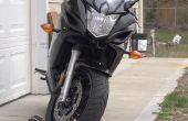 Cale de roue de moto