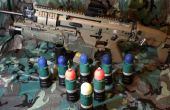 Airsoft 40mm effet spécial Projectiles
