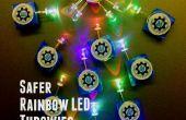 Génération communauté Kids': Plus sûre Rainbow LED Throwies