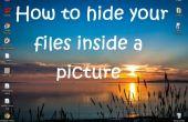 Comment cacher vos fichiers à l'intérieur d'une image