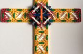 K ' NEX Pâques Cross