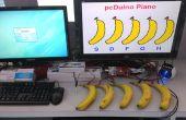 Un Piano à la banane comme clavier alimenté par pcDuino