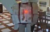 Costume de Silverbolt transformateur avec LEDs