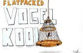 Cage à oiseaux Flatpacked