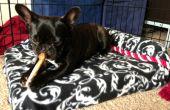 Aucun-cousez Pet Bed avec mitres en carton