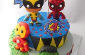 Super-héros Marvel fondant au
