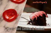 Vieux façonné Cherry bonbons durs et Fondant cerise