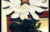 Papier scintillant Star Tree Topper