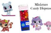 Jouet de distributeur bonbons miniature