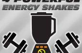 4 énergie puissante Shakes