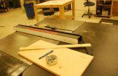Comment faire un bras de Poussée pour la table vu