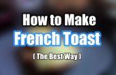 Comment faire le pain Français grillé - recette facile