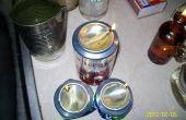 Utilisation d'huile de cuisson utilisé pour bougies de survie