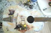 Comment faire pour Decoupage une guitare