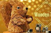 Faire un arbre de Noël en bois industriel