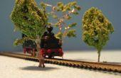 Arbres N-chemin de fer (échelle 1/160)