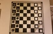 Pièces d'échecs de carreaux de mosaïque de faire