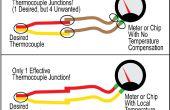 Comment identifier les fils rouge et jaunes sur un Thermocouple K... avec un aimant !