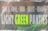 Comment faire une culotte vert clair tourné