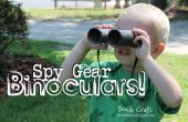 Spy Gear jumelles !  Artisanat Little Boy !  Des rouleaux de papier hygiénique !