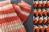 Glover Stitch Scarf – Crochet patron gratuit & tutoriels vidéo