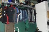 Finition & meubler un sous-sol à l'aide de menue monnaie partie 1: placard espace