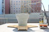 Minibuilders - comment les structures grandes impression 3d avec petits robots