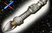 Dessiner un sabre laser 3D - conseils et techniques pour créer un 3D réaliste lightsaber dessin