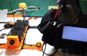 3D imprimé 250 Racing Quadcopter