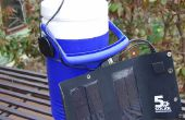 Personal Solar Powered climatiseur