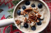Délicieuse recette de Promeal : Protéine + flocons d'avoine