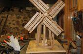 Construction d'un moulin à vent