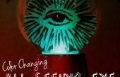 Changeant tous les aveugles boule de cristal de couleur
