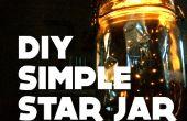 Simple étoile Jar