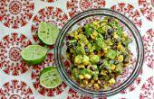 Rôti de maïs et Guacamole haricot noir