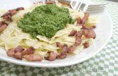 Pesto d'épinards & fusée