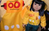 Robohoodie pour American Girl poupées