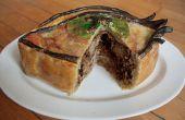 Pie-Eyed Meat Pie : Drunken porc tiré