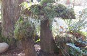 Faire un champignon Moss : Yard Art