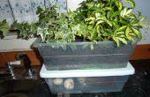 Agréable odeur bac à Compost d'intérieur hybride et planteur
