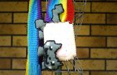 Nyan Cat écharpe tricotée