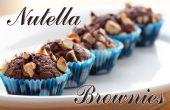 Brownies Nutella | Tres Ingredientes